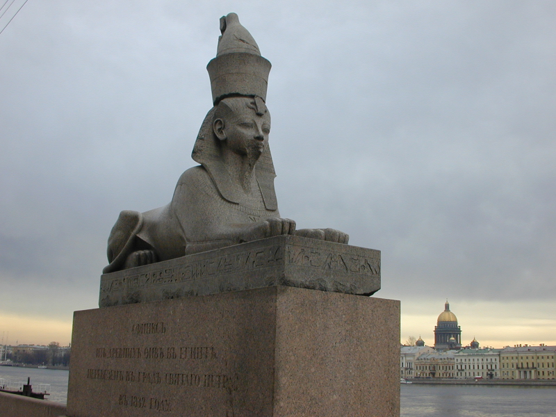 Sphinx on the Neva