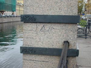 Canalside Flood markers